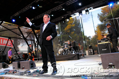 The Godfathers @ Rockwave Festival, Athens, Greece, 11/07/14