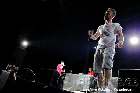 Νικήτας Κλιντ Moriginal & Fleck @ Rockwave Festival, Athens, Greece, 11/07/14