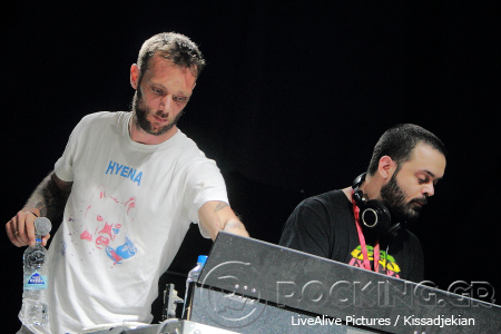 Νικήτας Κλιντ Moriginal & Fleck @ Rockwave Festival, Athens, Greece, 11/07/14