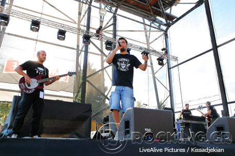 Στιχοπλοκές @ Rockwave Festival, Athens, Greece, 11/07/14