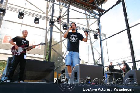 Στιχοπλοκές @ Rockwave Festival, Athens, Greece, 11/07/14