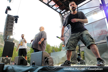 Βαβυλώνα @ Rockwave Festival, Athens, Greece, 11/07/14