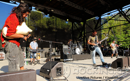 Villagers Of Ioannina City @ Rockwave Festival, Athens, Greece, 11/07/14