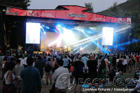 Calexico @ Rockwave Festival, Athens, Greece, 12/07/14