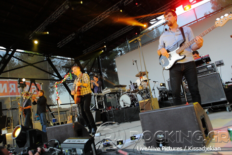 Calexico @ Rockwave Festival, Athens, Greece, 12/07/14