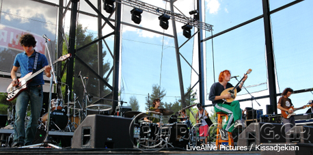Chinese Basement @ Rockwave Festival, Athens, Greece, 12/07/14