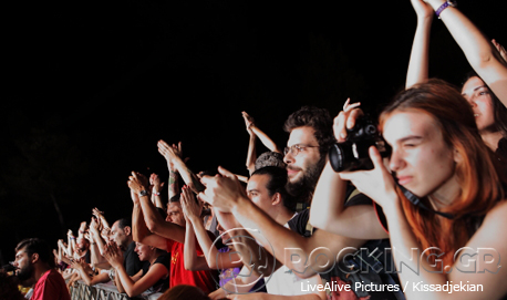 Crowd @ Rockwave Festival, Athens, Greece, 12/07/14