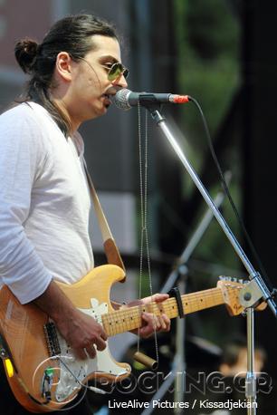 Greeklish Babylon @ Rockwave Festival, Athens, Greece, 12/07/14