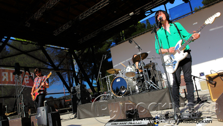 Little Barrie @ Rockwave Festival, Athens, Greece, 12/07/14