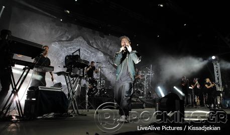 Woodkid @ Rockwave Festival, Athens, Greece, 12/07/14