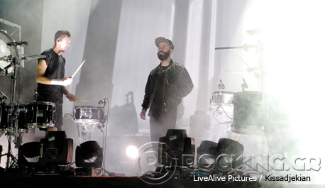 Woodkid @ Rockwave Festival, Athens, Greece, 12/07/14