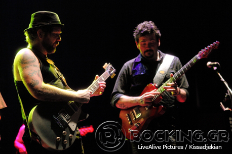 Royal Southern Brotherhood, Athens, Greece, 30/06/14