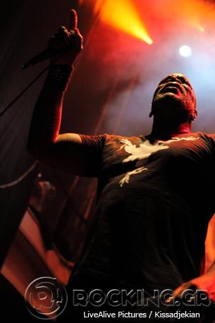 Sepultura, Athens, Greece, 03/07/14