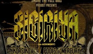 Sigiriya, Korsikov, Pools Of Mercury @ Six D.O.G.S., 24/03/14