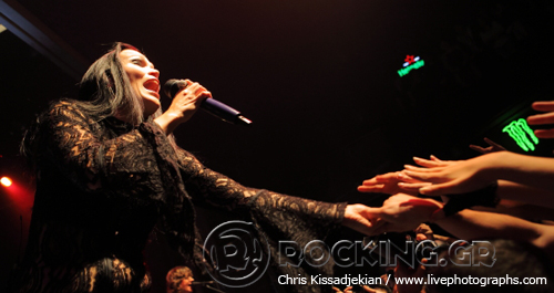 Tarja, Athens, Greece, 31/10/14