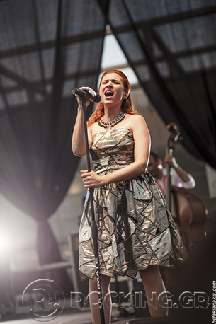 Penny & The Swingin' Cats, Athens, Greece, 17/06/14