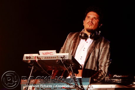 Thievery Corporation, Athens, Greece, 17/06/14