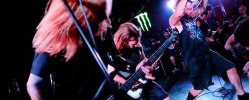 Unearth, Endsight, Kin Beneath Chorus @ An Club, 17/09/14