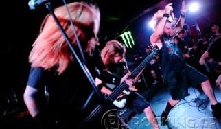 Unearth, Endsight, Kin Beneath Chorus @ An Club, 17/09/14