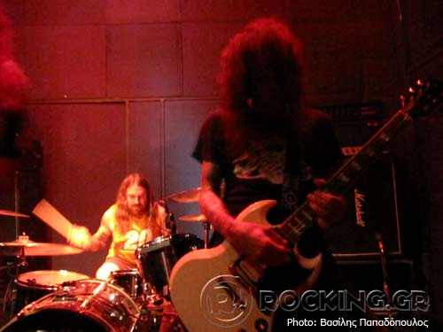 Windhand, Athens, Greece, 09/04/14