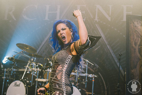 Arch Enemy, Athens, Greece, 14/11/15