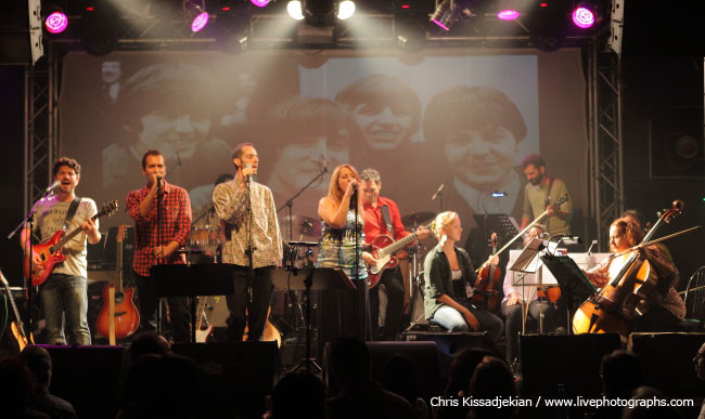 The Beatles Live Tribute Band, Athens, Greece, 23/10/15