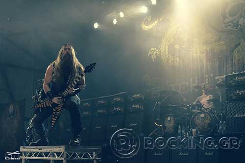 Black Label Society, Athens, Greece, 24/07/15