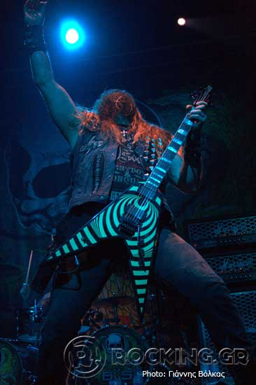 Black Label Society, Thessaloniki, Greece, 25/07/15