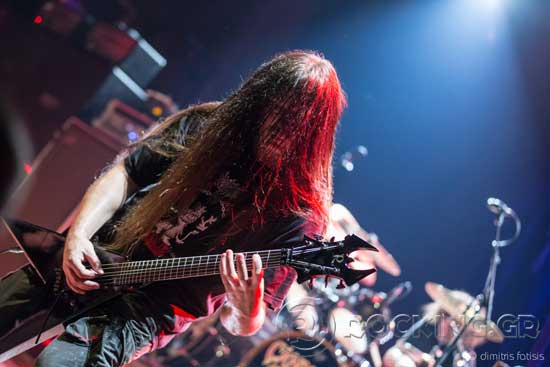 Cannibal Corpse, Athens, Greece, 27/07/15