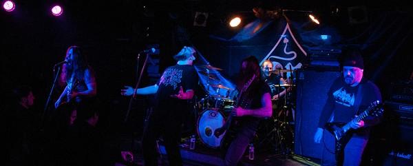 DreamLongDead, Automaton, Soulskinner @ An Club, 20/03/15