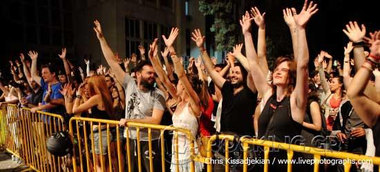 Crowd, Athens, Greece, 21/06/15
