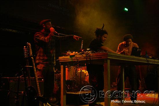 Νικήτας Κλιντ & Moriginal Beats, Thessaloniki, Greece, 20/02/15