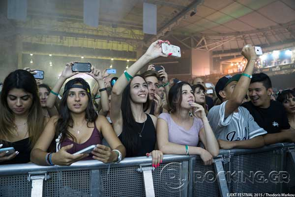 Crowd, Athens, Greece, 15/07/15