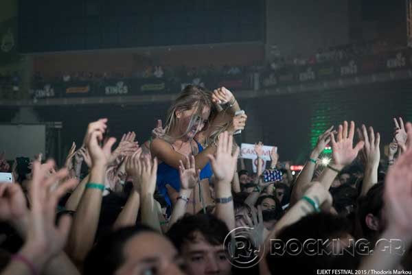 Crowd, Athens, Greece, 15/07/15