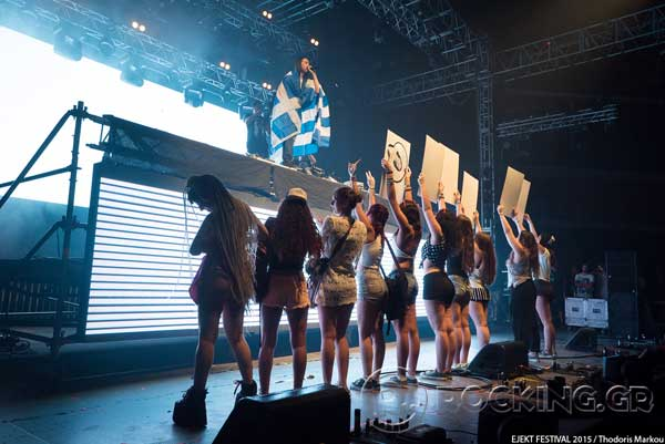 Steve Aoki, Athens, Greece, 15/07/15