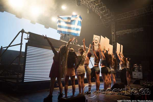 Steve Aoki, Athens, Greece, 15/07/15