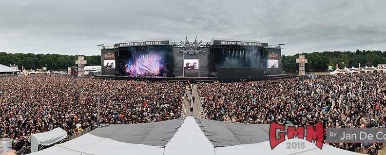 Graspop Metal Meeting (Slipknot, Korn, Judas Priest, Faith No More, Alice Cooper, Slash κ.ά.) @ Dessel (Βέλγιο), 19-21/06/15