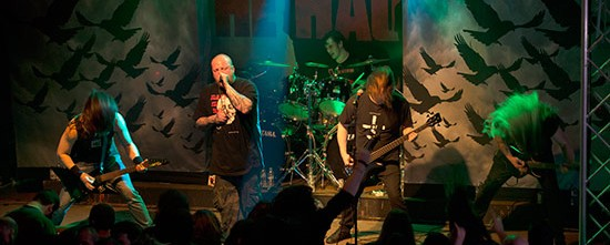 The Haunted, Acid Death @ Κύτταρο, 14/03/15