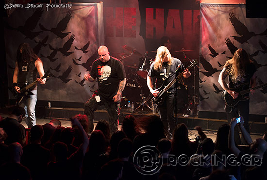 The Haunted, Athens, Greece, 14/03/15