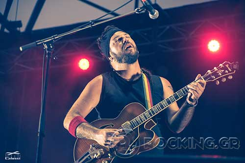 Baildsa @ Rockwave Festival, Athens, Greece, 21/07/15