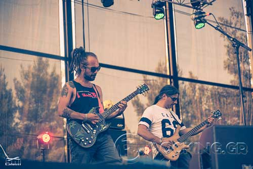 Fundracar @ Rockwave Festival, Athens, Greece, 21/07/15