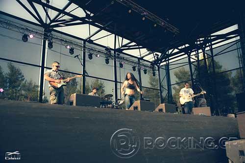 Les SkartOi @ Rockwave Festival, Athens, Greece, 21/07/15