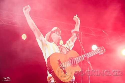 Manu Chao La Ventura @ Rockwave Festival, Athens, Greece, 21/07/15