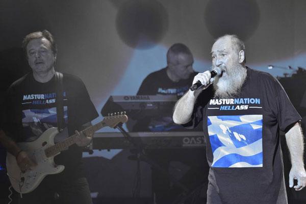 Τζίμης Πανούσης & Μουσικές Ταξιαρχίες, Athens, Greece, 07/12/15