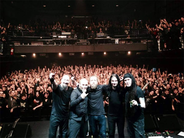 Paradise Lost, Athens, Greece, 22/11/15