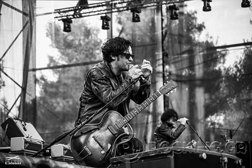Black Rebel Motorcycle Club @ Rockwave Festival, Athens, Greece, 04/07/15