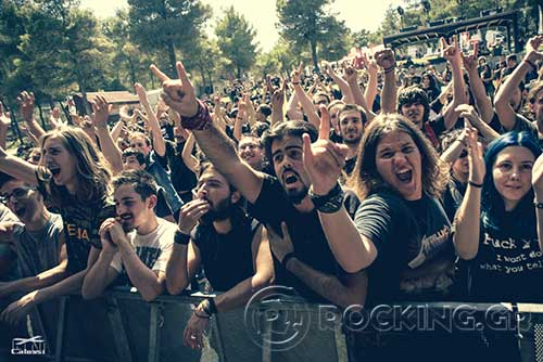 Exarsis @ Rockwave Festival, Athens, Greece, 04/07/15