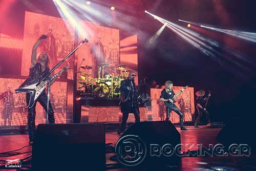 Judas Priest @ Rockwave Festival, Athens, Greece, 04/07/15