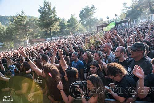 Rotting Christ @ Rockwave Festival, Athens, Greece, 04/07/15