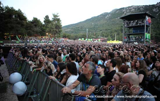 Crowd @ Rockwave Festival, Athens, Greece, 20/06/15
